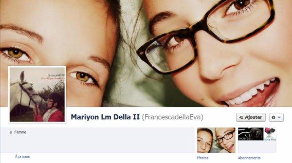 Francesca à Facebook ! :)
