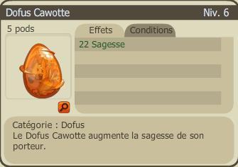 Dofus Cawotte +22
