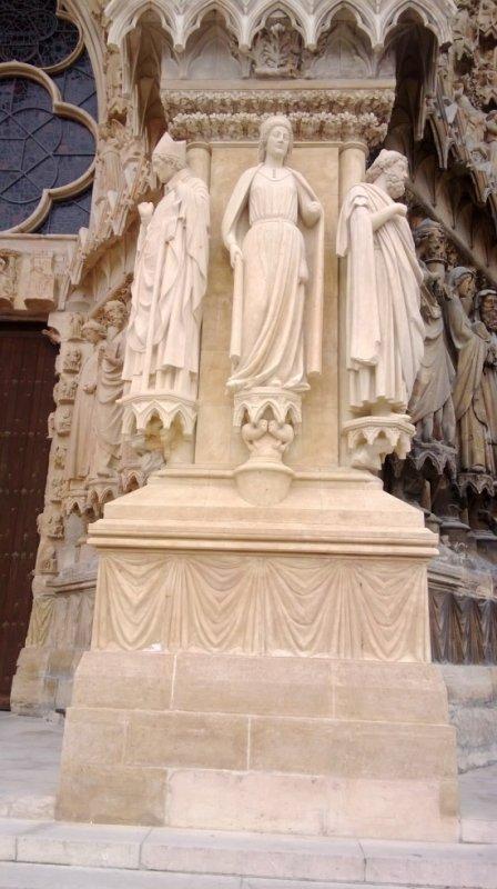 reims magnifique cathédrale