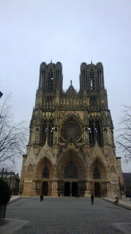 la cathédrale de Reims