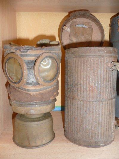 masque à gaz français ww1
