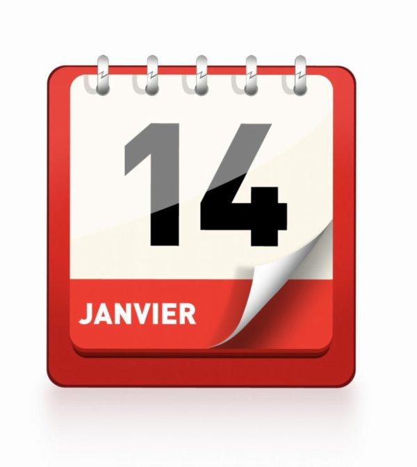 le 14 janvier