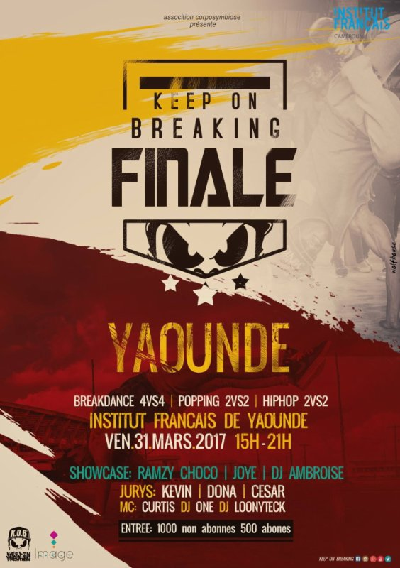 KEEP ON BREAKING FINALE YAOUNE