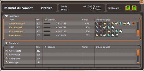 mini-team// record glours // retour de ma 2eme sacrie =)
