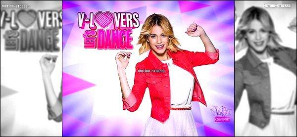.  03/15 - Une nouvelle photo promotionnelle de #Violetta3 vient tout juste de faire son apparition ! D'après l'image, il s'agirait d'une promo pour un concours. Je ne sais pas si c'est un concours ou autres, ni dans quel pays il est organisé. .