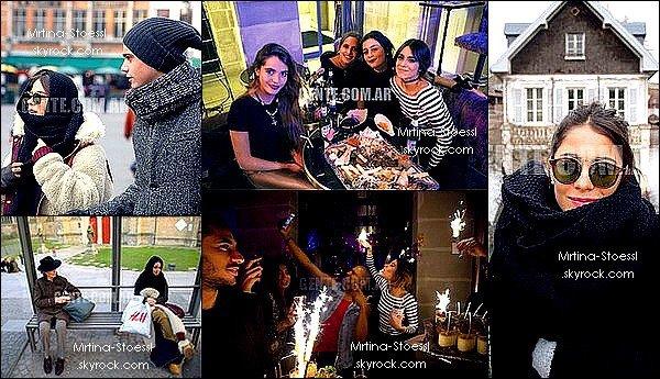 . 03/15 - Le magazine argentin « GENTE » a écrit un article sur Martina Tini Stoessel ! Le magazine a posté plusieurs photos exclusives de Tini, notamment lors de son anniversaire, le 21 mars dernier ! .