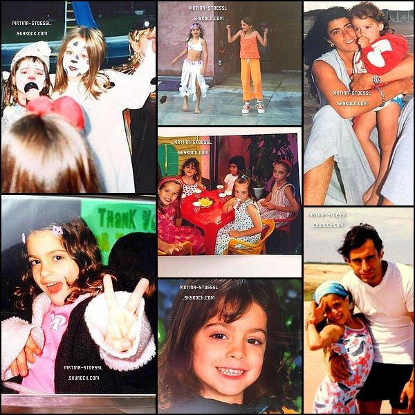 . 24 avril 2015 : Plusieurs photos de Martina enfant ont étés postées par Mariana, sa maman, sur le réseau social Twitter. Mariana nous as dévoilées des photos exclusives ! Je trouve Tini trop mignonne, que se soit avec ou sans ses amies. Elle était déjà très photogénique ! .