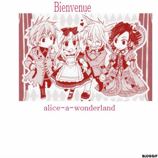 Bienvenue sur Alice-a-wonderland