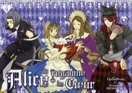 Tous les tomes de Alice au Royaume de Coeur