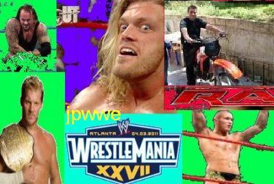 WrestleMania XXVII (03 Avril 2011)