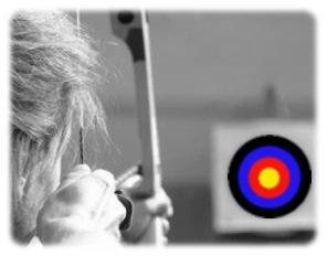 Les Indiens tirent et touchent toujours leurs cibles... ♥
