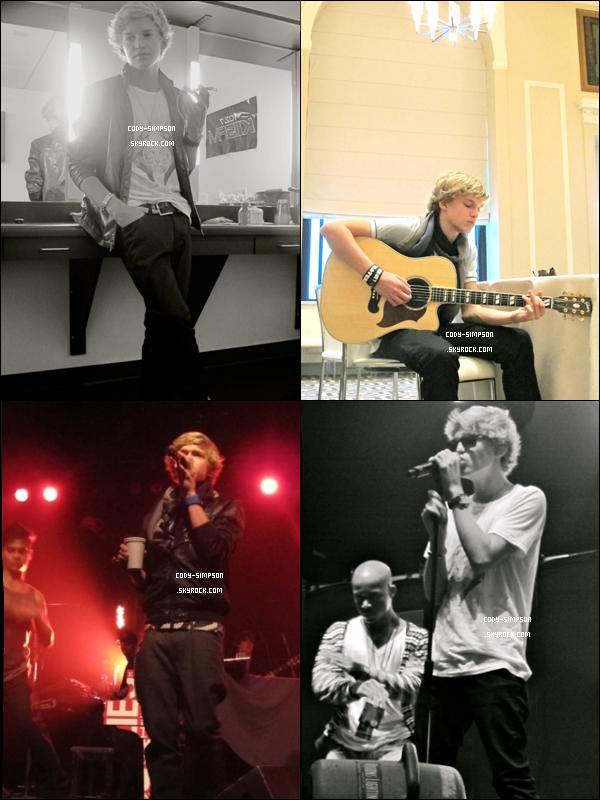 27 Mai. Nouvelles photos dans les coulisses du 'Waiting 4U TOUR'.