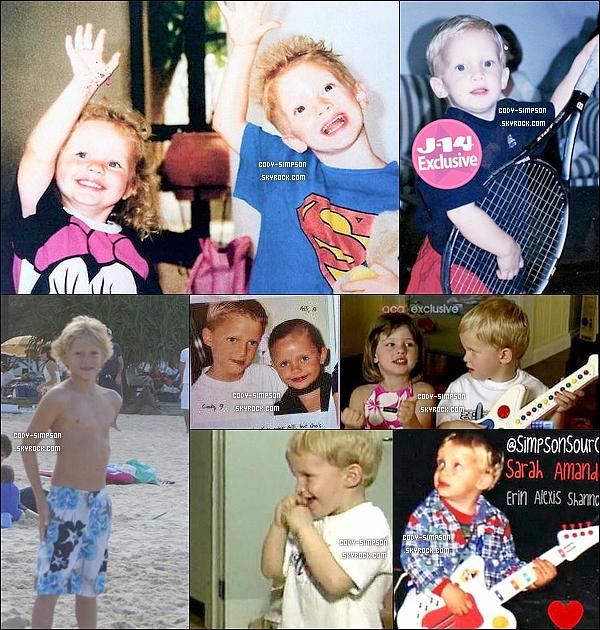27 Mai. De nouvelles photos de Cody étant petit ont fait leurs apparitions sur le net.