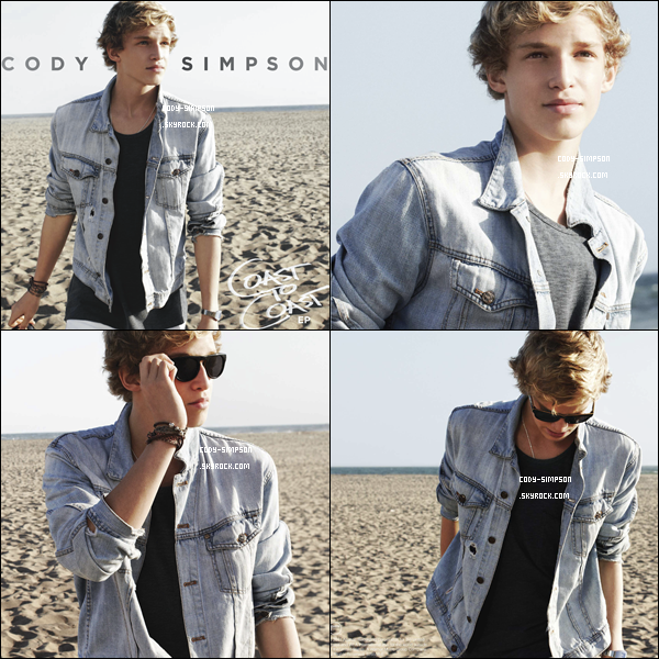 Découvrez dès maintenant les scans du nouvel EP de Cody Simpson « Coast to Coast », donne moi ton avis.