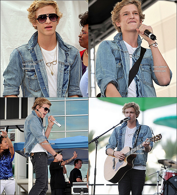 16 dec. Cody performe lors du « Y100 Jingle Ball » à Sunrise, en Floride.   .