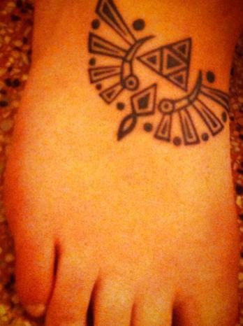 mon nouveau Tattoo que je me suis dessiné