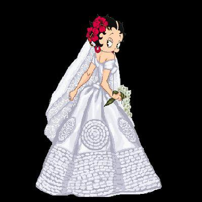 *** betty boop *** - MARIAGE