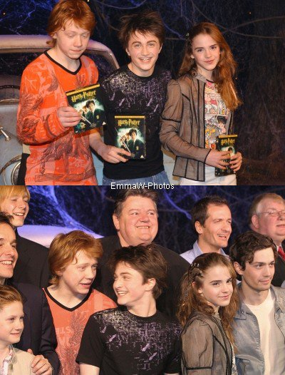 2003 (Premieres/Events) : Harry Potter and the Chamber of Secrets DVD Launch [08.04]