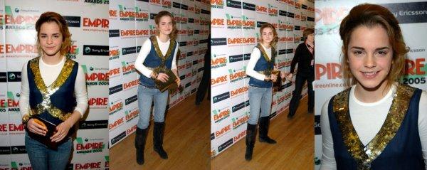 2005 (Premieres/Events) : Sony Ericsson Empire Film Awards [13.03]