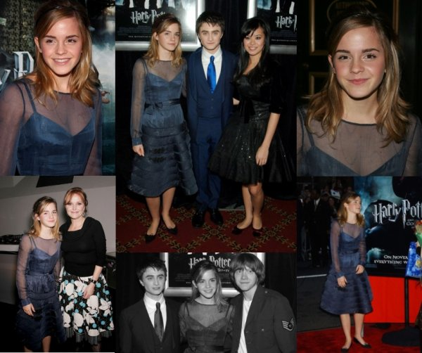 2005 (Premieres/Events) : Harry Potter and the Goblet of Fire New York Premiere [12.11]