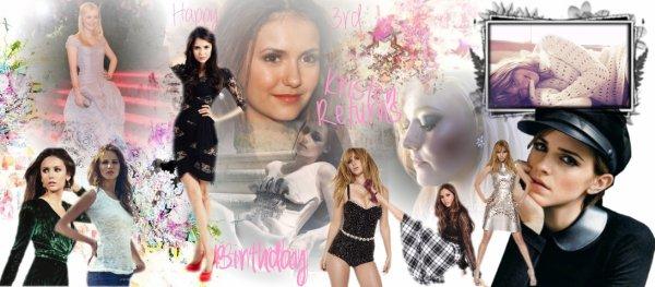 Creation pour anniversaire : Kristen-Returns