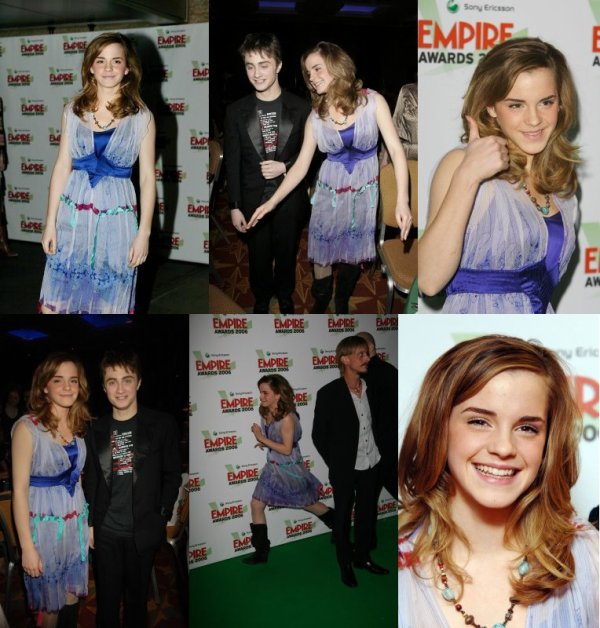 2006 (Premieres/Events) : Sony Ericsson Empire Film Awards [13.03]