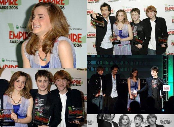 2006 (Premieres/Events) : Sony Ericsson Empire Film Awards [13.03]