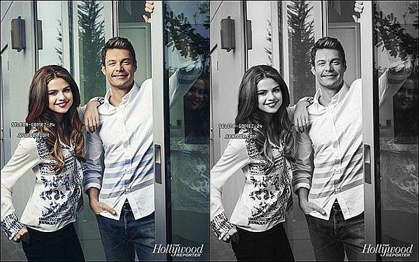Trois nouvelles photos de S. pour « The Hollywood Reporter » ont fait leur apparition sur la toile.