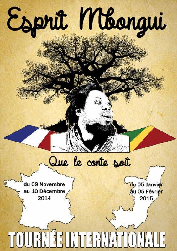 Congolaises, Congolais, mes chers expatriés, je vais passer dans les villes suivantes pour un Mbongui à la maison. Qui peut recevoir le conteur chez lui ?