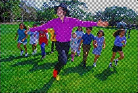 Michael et le Magnifique Neverland *-*