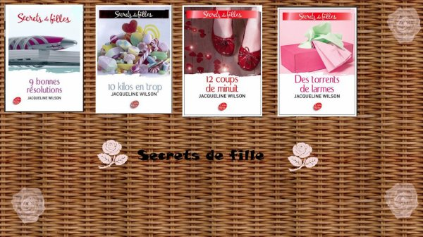 Secrets de filles ( les quatre tome ) - Jacqueline Wilson