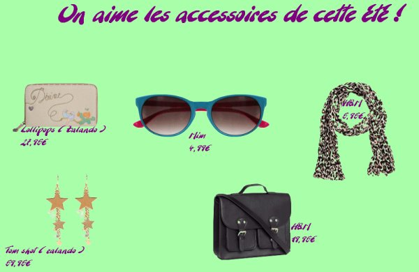 On aime les accessoires cette été !