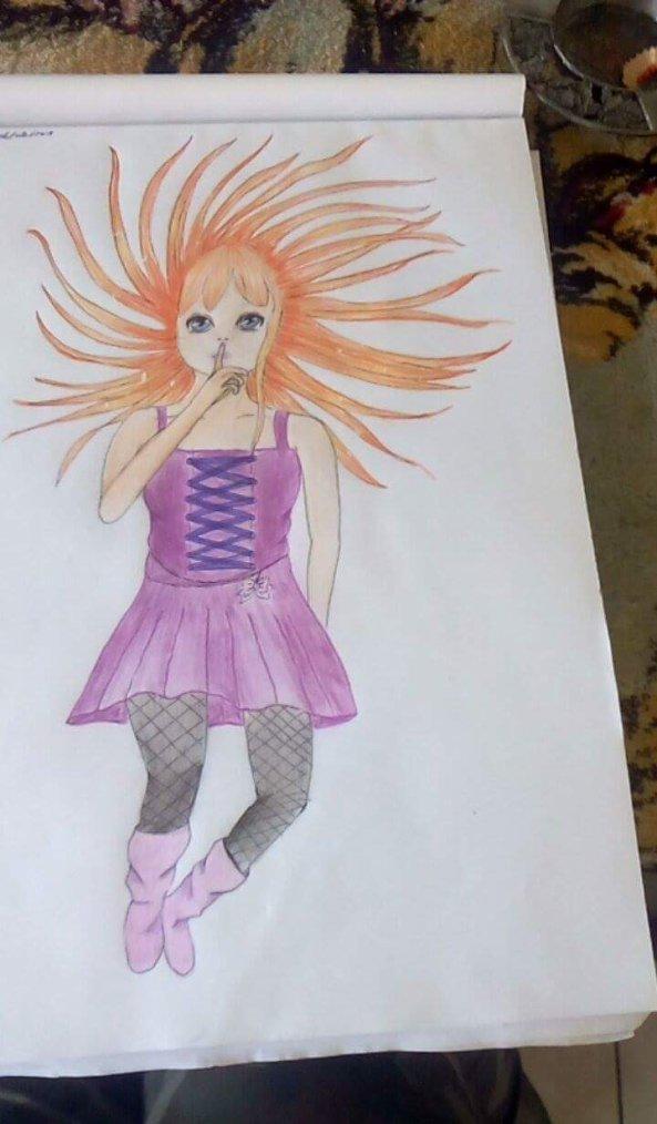 Naomi (dessin fait par moi )