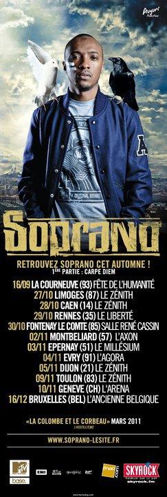 PSY4 DE LA RIME EN CONCERT SUR TOUTE LA TOURNÉE D'AUTOMNE DE SOPRANO