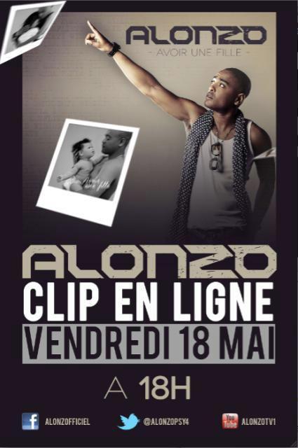 RENDEZ VOUS DEMAIN 18H POUR LE NOUVEAU CLIP D'ALONZO ! .ıllılı. Facebook Fan Officiel .ıllılı. Twitter Officiel .ıllılı.