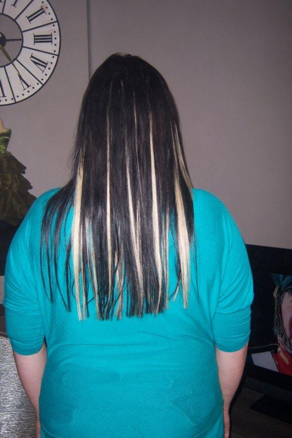 pose d extension label remy hair