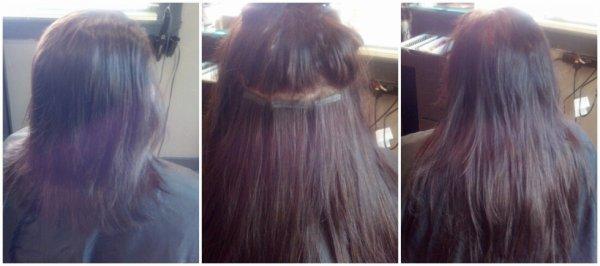nouveau tape hair extension
