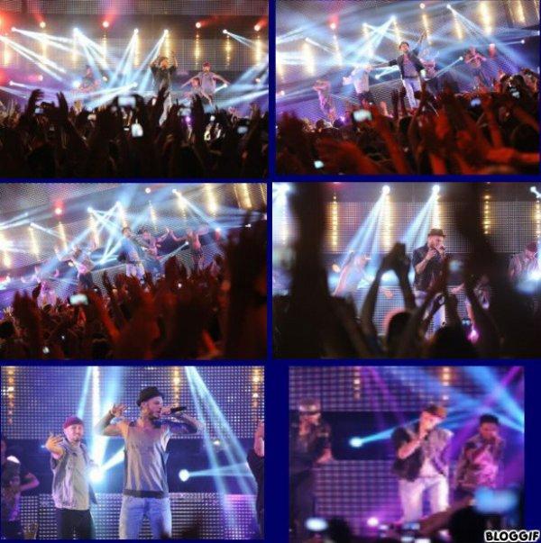 matt pokora en concert 2012