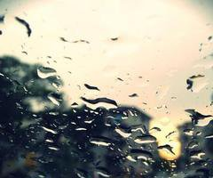 Please don't stop the rain...