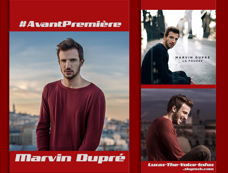 #AvantPremière: Marvin Dupré, nouveau talent The Voice 6 !