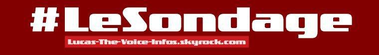 #SONDAGE - Live 2 Equipe par Equipe