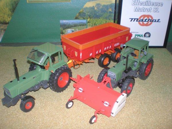 Fendt 614 SL et Fendt 610 S , pas mal non plus comme ca !