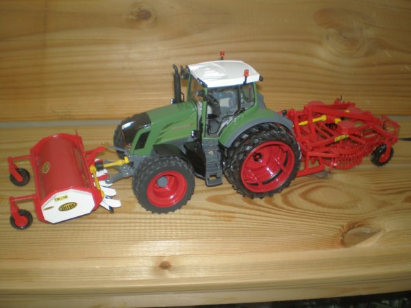 Fendt 828 Chantier Gilles