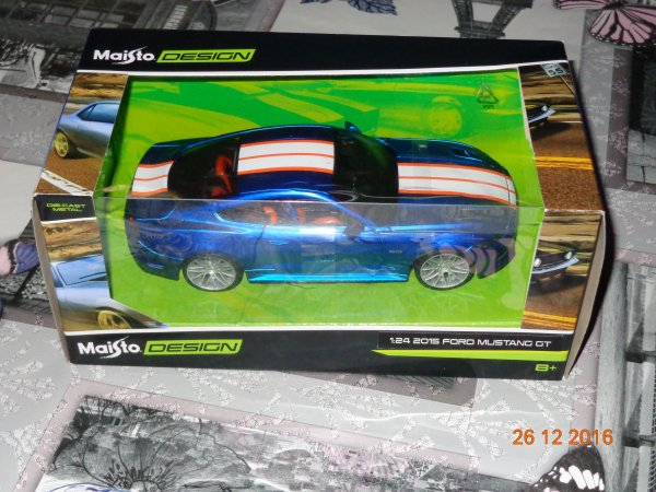 Ma collection de Ford Mustang /Shelby1/24 em