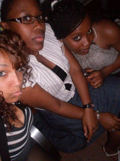 MA ZINE( samantha  $)), MA CHEWIEE(miss YUMI  $)  and ME  $)