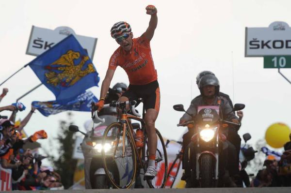 Giro 2011 : 14ème étape : Anton s'impose