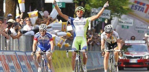 Giro 2011 : 18ème étape : L'étape pour Capecchi
