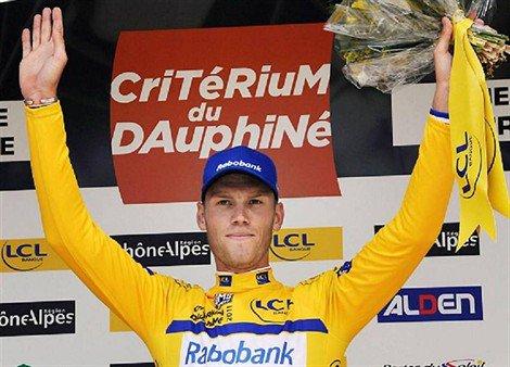 Dauphiné 2011 : Prologue : Lars Boom premier leader