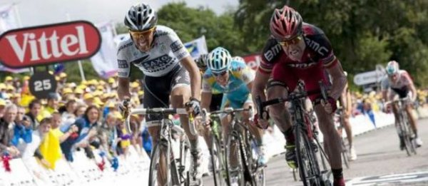 Tour de France : 4ème étape : Evans de justesse