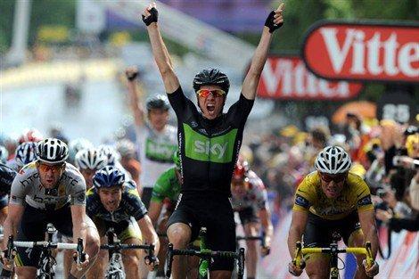 Tour de France : 6ème étape : Boasson Hagen le plus fort